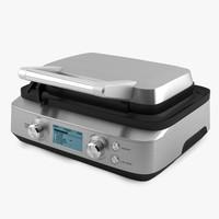 g700 waffle maker bork 3d model