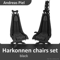 cinema4d set harkonnen chair