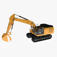 hydraulic thumbs excavators 3d model