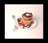 3ds max pancakes
