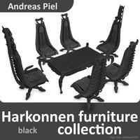 c4d harkonnen chair