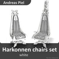 set harkonnen chair 3d c4d