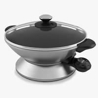 g600 electric wok bork 3d max