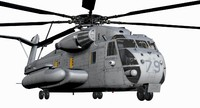 3d ch-53e super stallion model