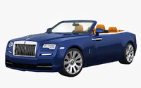 3d rolls royce dawn 2017