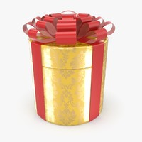 christmas present c4d