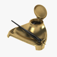 3d model ink stand inkstand