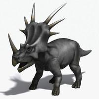 max dinosaur styracosaurus