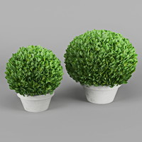3d bush decorative
