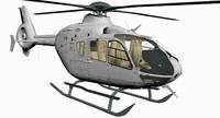 3d model ec-135 eurocopter