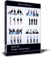 3d 3d: people - casual model