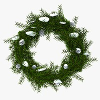 c4d christmas wreath 4