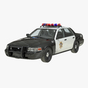 police vehicle 3D models