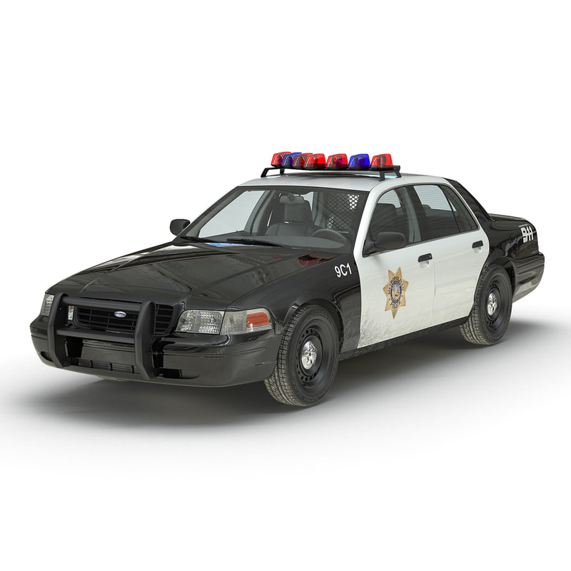 Ford Crown Victoria Police Car 3d model 01.jpg