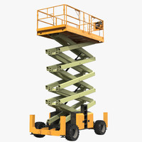 Engine Powered Scissor Lift Generic 4