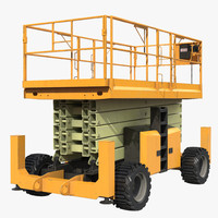 scissor lift 3D models