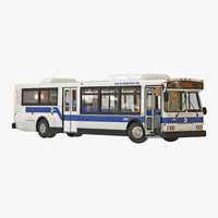 3d mta new york city bus model