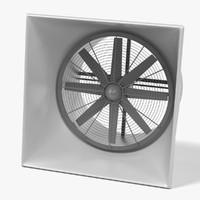 3d model large fan