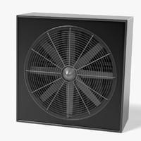 large fan 3d model