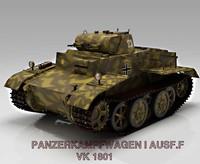 3d tank panzer ausf f