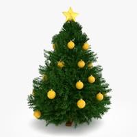 3d christmas tree 2 model