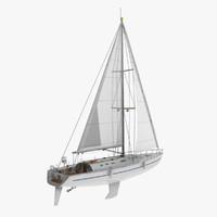 3d sailing yacht