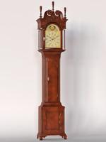 3d carved clock model