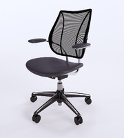 humanscale liberty task chair 3d max