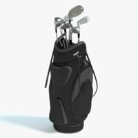 3d golf bag