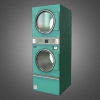 3ds max laundromat dryer ready pbr