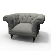 beverly chair 3d obj