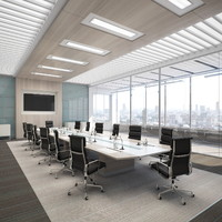 3d conference room model