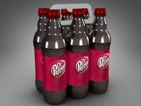 3d c4d 6 pack 500ml bottles
