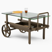 serving tables robers 3d obj
