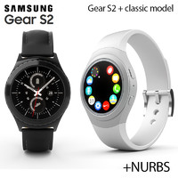 3d samsung galaxy gear s2 model
