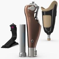 3d leg prosthesis
