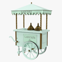 laduree card 3d model