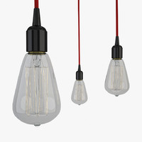 decorative bulb lighting 3d max