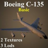 3d boeing basic model