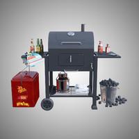 3d max charcoal grill