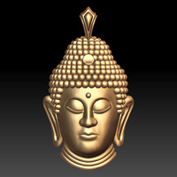 3ds max buddha head pendant