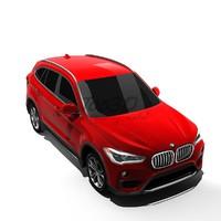 x1 2016 3d model