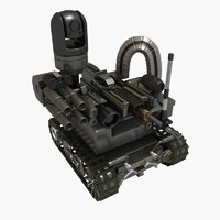 3d maars vehicle robotic model
