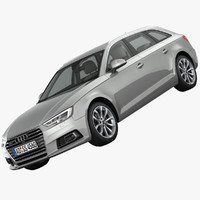 station wagon 3D models