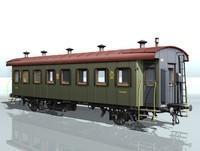 2-axles passenger wagon 4911 max