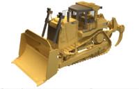 3d d9t dozer cat model