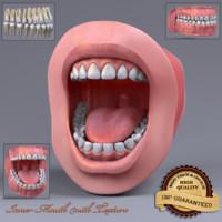 inner mouth 3d model