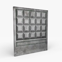 fence concrete blend free
