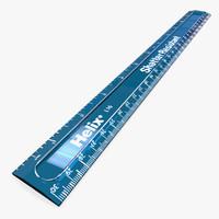 3dsmax shatter resistant ruler