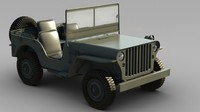 US Army  Willys Jeep -A